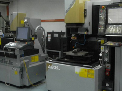 EDM & Wire Cutting Department
